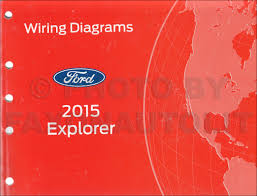 2015 ford explorer wiring diagram manual original
