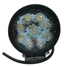 Led Driving Lights Automotive 27w Round Off Road Led Work Light Work Lamp Orl 09 Torchstar