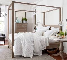 canopy for bedroom farmhouse canopy bed pottery barn au