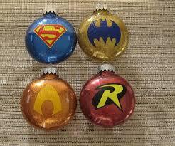 ornament set batman robin superman aquaman free