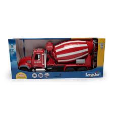 bruder fire truck concrete mixer toy truck ozinga store