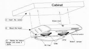 under cabinet hood installation under cabinet range hood installation f94 for top designing home