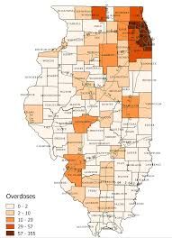 Map Of Chicago Suburbs Icjia A State And National Overview Of The Opioid And Heroin Crisis
