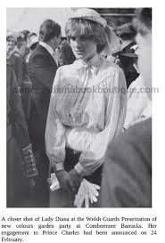 14 may 1981 lady diana spencer attends the presentation by the