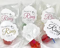 personalized ring pops ring pop etsy