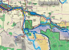 Springfield Map Introducing The Willamette River Open Space Vision The Possible