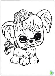 littlest pet lps coloring book coloring