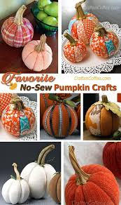 Fall Decorating Projects - diy these easy no sew patchwork pumpkins tonight crafts u0027n coffee
