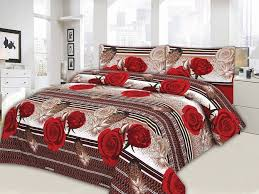 buy bed sheets king size cotton bed sheet price in pakistan m002755 check p5362 red