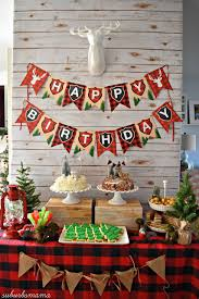 Christmas Party For Kids Ideas - kids lumber jack birthday party winter and christmas party idea