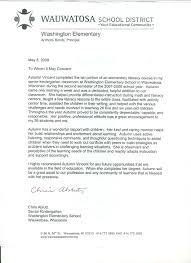 cover letter special education letter of recommendation for student teacher special education