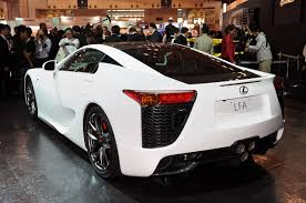 lexus lfa crash lexus lfa officially unveiled in tokyo video u0026 press release