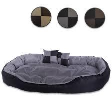 Panier Design Pour Chien Dibea Lit Coussin Canapé Lavable Avec Coussin Réversible Pour