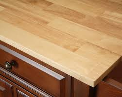Crosley Kitchen Islands Crosley Furniture Alexandria Natural Wood Top Kitchen Island In