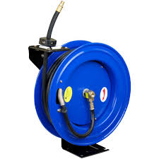 best wall mounted hose reel tekton 100 ft hand crank air hose reel 4687 the home depot