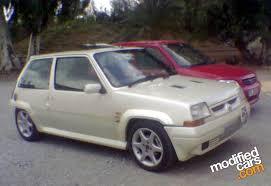 renault 5 5 gt turbo grn