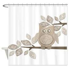 Owl Shower Curtains Garima Dhawan Vintage Red Owl Shower Curtain Deny House U0026 Home