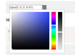 Simple Jquery Based Color And Gradient Picker Ascolorpicker Web Page Color Picker