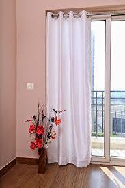 White Faux Silk Curtains Dupioni Faux Silk Curtain Each 45 114 Cm Wide X 72 183 Cm