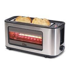 8 Slot Toaster Maxi Matic Elite Platinum Glass 2 Slice Toaster Stainless Steel