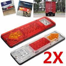 led trailer tail lights waterproof 24v caravan led trailer tail lights led rear turn signal