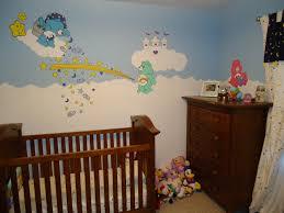 care bear nursery mural album on imgur finished se corner of the nursery