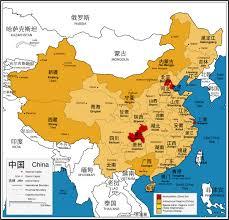 Chengdu China Map by Maps Of China Bizbilla Com