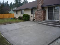 Exposed Aggregate Patio Pictures by Concrete Arbors U0026 More