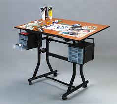 Martin Drafting Table Martin Creation Station Hobby Table