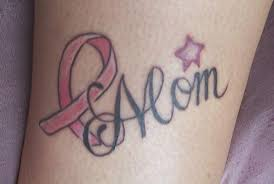 mom breast cancer ribbon tattoo on biceps photos pictures and