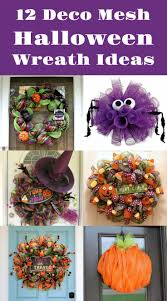 deco mesh ideas 12 diy deco mesh wreaths for diycandy