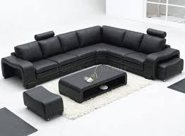 Black Leather Sectional Sofa Recliner 4087 Modern Leather Sectional Sofa Bob Furniture Sofa Bed Power