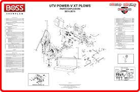 boss v plow parts diagram