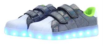 2017 arrive baby girls u0026boys led sneakers 7 led light color