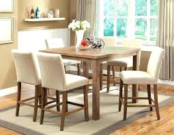 white counter height kitchen table and chairs white counter height table set white and cherry 5 piece counter