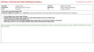 Homemaker Job Description On Resume by Laundry Worker Cover Letter