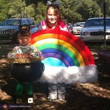 Pot Halloween Costumes Rainbow Pot Gold Costume Gold Diy Diy Halloween