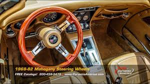 corvette america parts corvette parts 1968 1982 mahogany steering wheels
