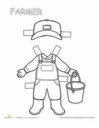teacher paper doll 2 paper dolls worksheets and teaching