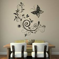 Dining Room Wall Decals Through Wall Decals Create You Wonderful Walls To Fall In Dining