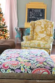 Recover Ottoman Project Elephant 6 How To Re Cover An Ottoman The Easy Way M