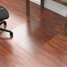 Black Chair Mats For Hardwood Floors Chair Office Depot Plastic Carpet Costco Desk Mats For Protector