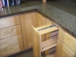 kitchen unique maple kitchen cabinets with black appliances
