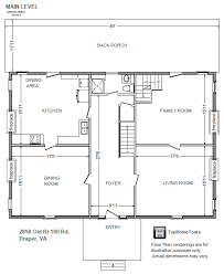 house plans historic historic colonial house floor plan historic colonial house floor