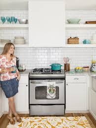 white kitchen cabinets pictures ideas tips from hgtv small and mighty white kitchen