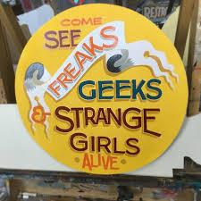 freaks geeks and strange girls all alive living wonders human