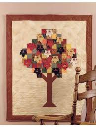 free autumn quilting patterns thanksgiving tree