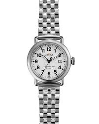 stainless steel bracelet strap images Shinola the runwell stainless steel watch with bracelet strap jpg