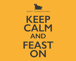 keep calm and feast on free happy thanksgiving ecards greeting