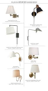 plug in sconces for under 300 u2014 lauren l caron